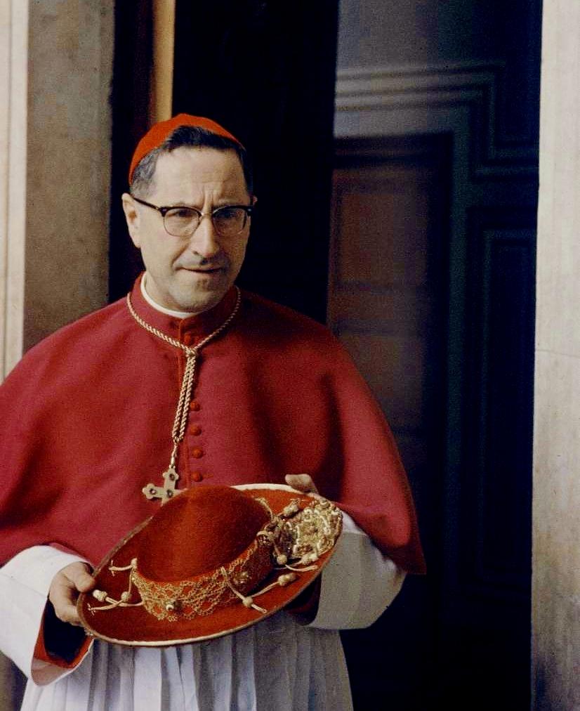 Znalezione obrazy dla zapytania kardynał siri