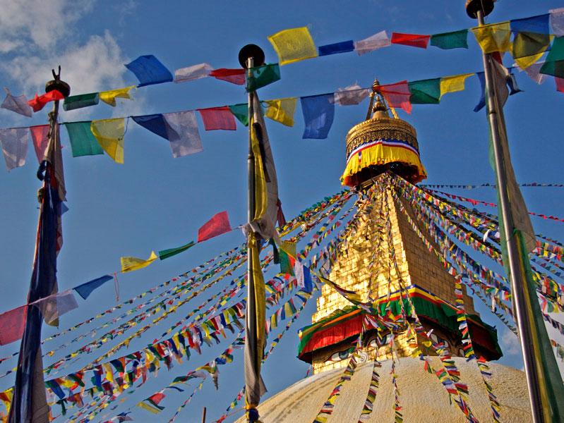 Great Stupa of Bodnath, Kathmandu valley, Nepal