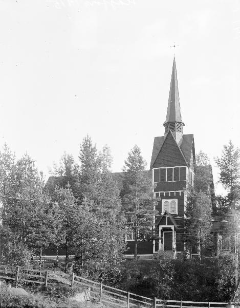 Bild av Hagfors kyrka
