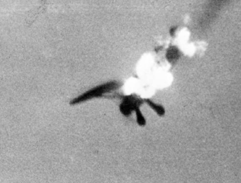 File Henschel Hs 126 Shot Down Near Paris 1943 Jpg
