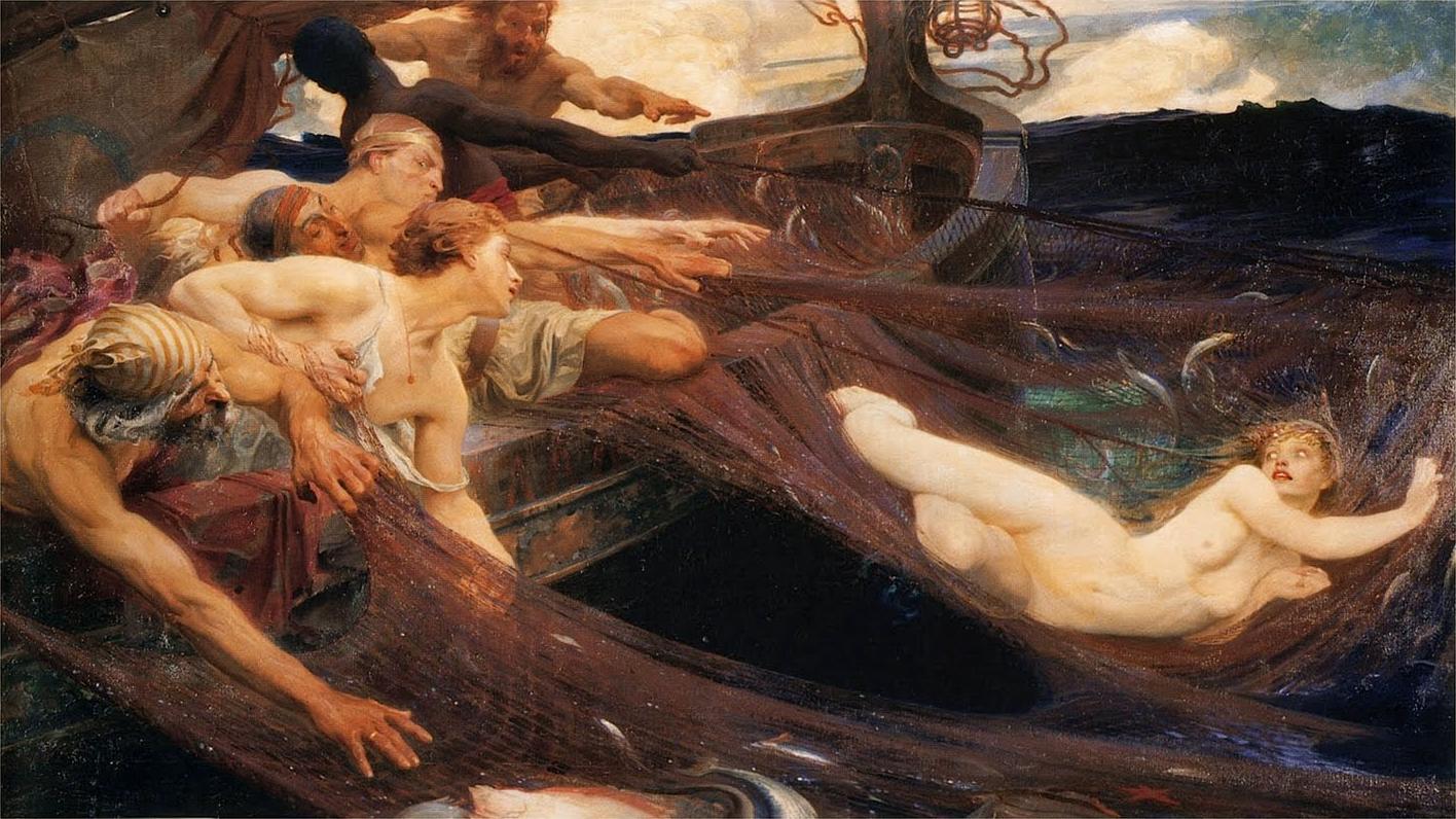 File:Herbert James Draper, The Sea Maiden.jpg - Wikimedia Commons