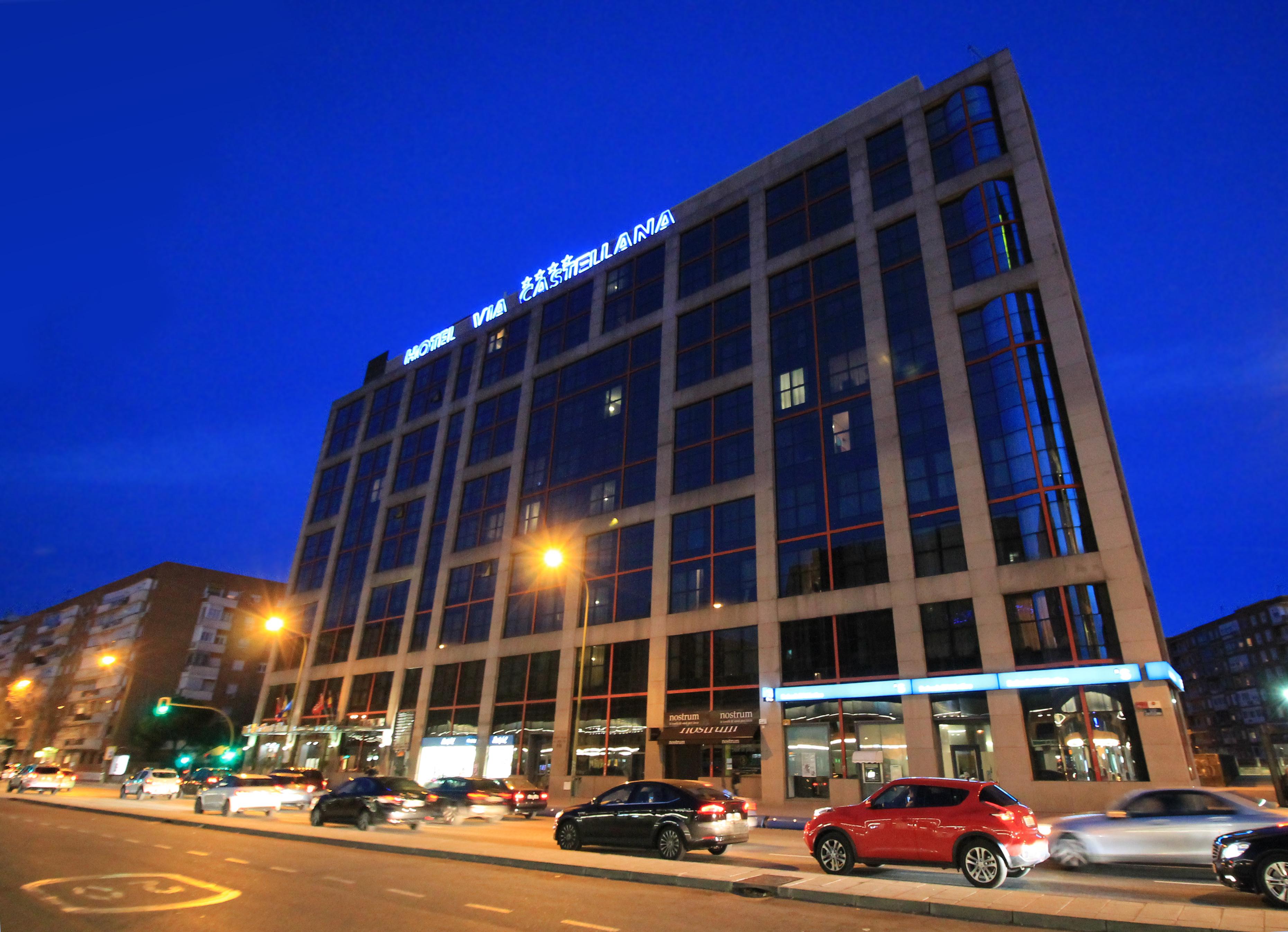 Hotel Via Castellana Madrid Nahe Bahnhof