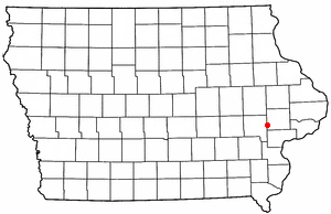 West Branch Iowa Map.West Branch Iowa Wikipedio
