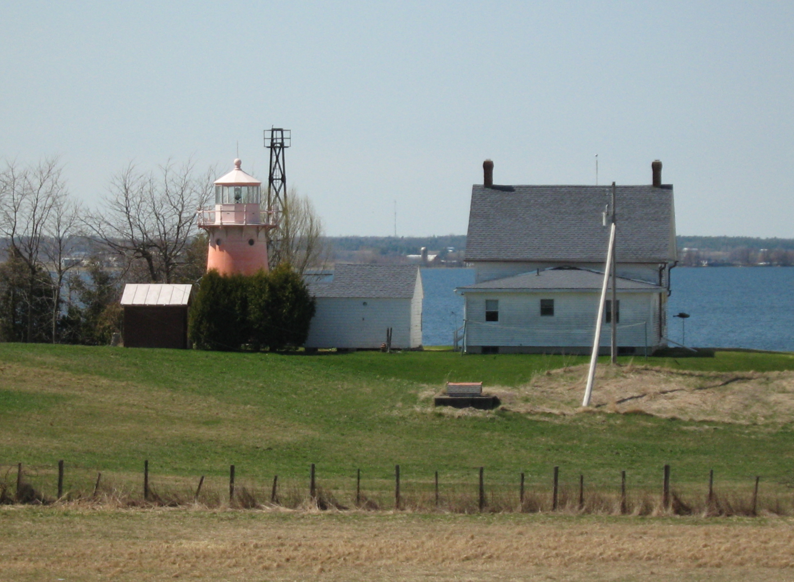 Isle La Motte Light Lighthouse