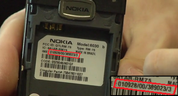File:IMEI number of Nokia 6030 20110805 png - Wikimedia Commons