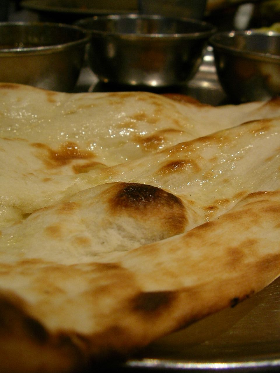 Naan is one of the staple breads of Awadh
