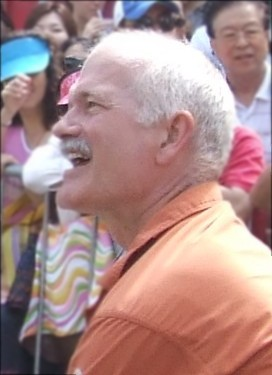 Jack Layton at Pride 08