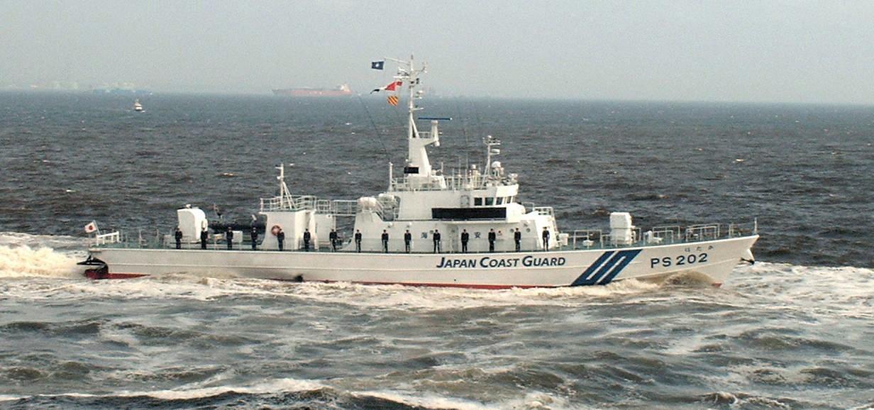 Japan Coast Guard Small Patrol Vessel, PS202 Hotaka. ( in public