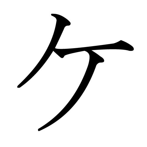 ケ Wiktionary