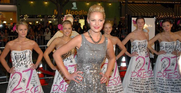 Katherine Heigl at 27 Dresses Premiere 15