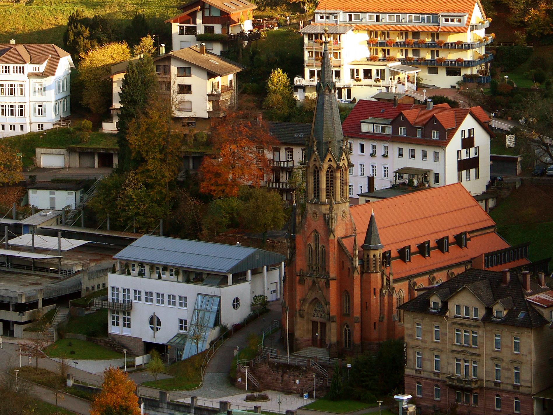Bad Wildbad Schwarzwald Hotel Gasthof Hirsc
