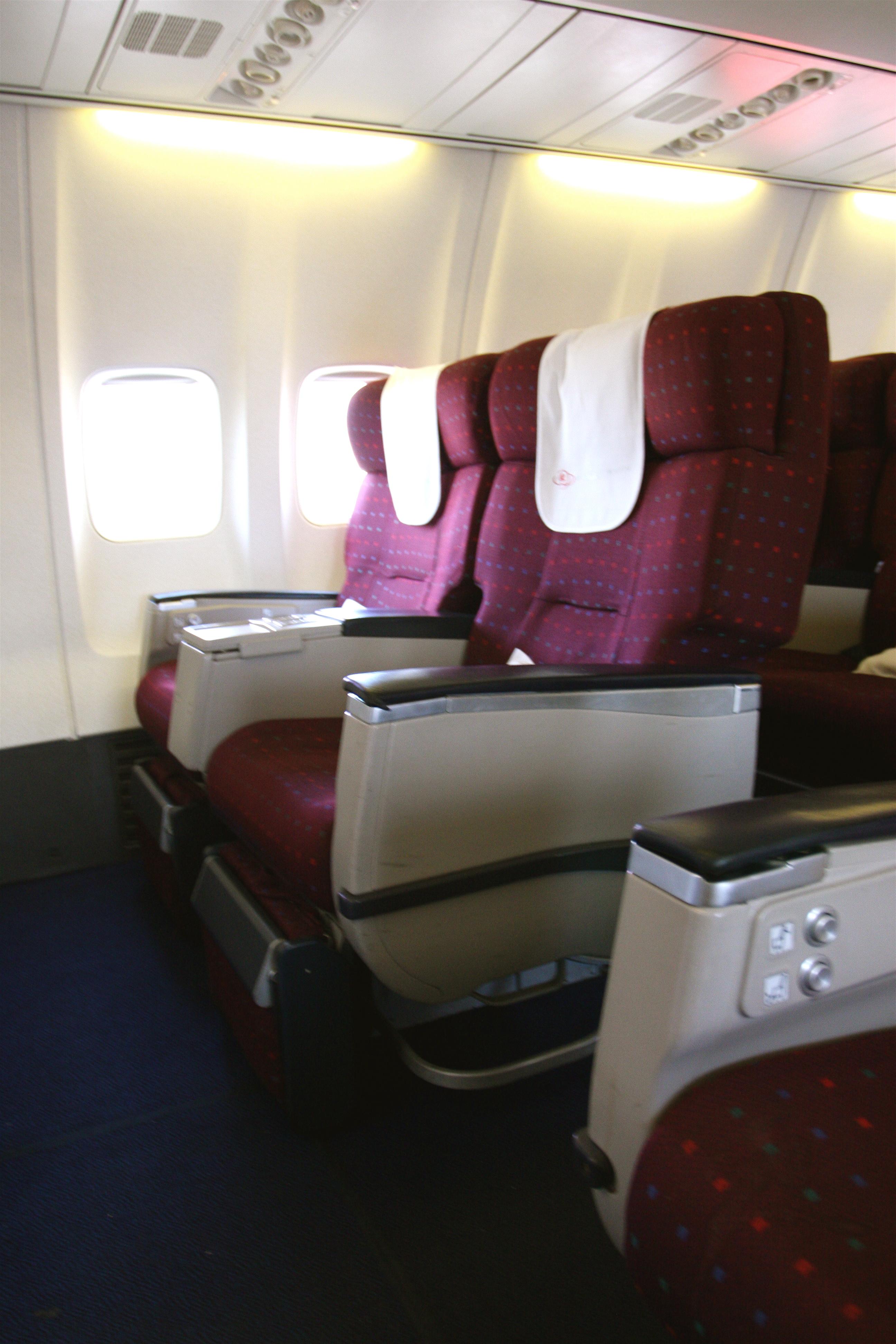 FileKenya Airways Business Class Seat Boeing 737 700