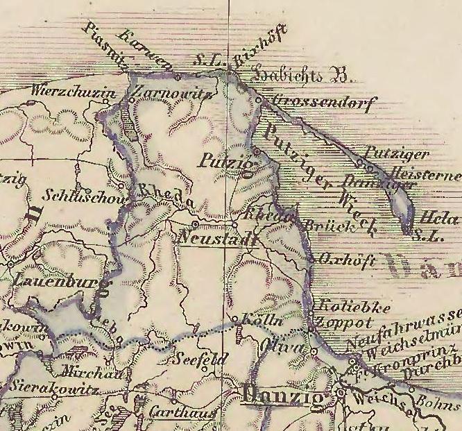 Bildergebnis für Karthaus westpreußen landkarte