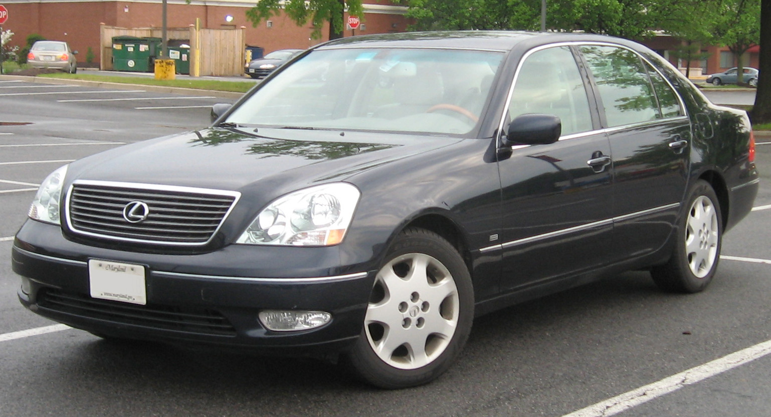 file:lexus ls 430 black onyx - wikimedia commons