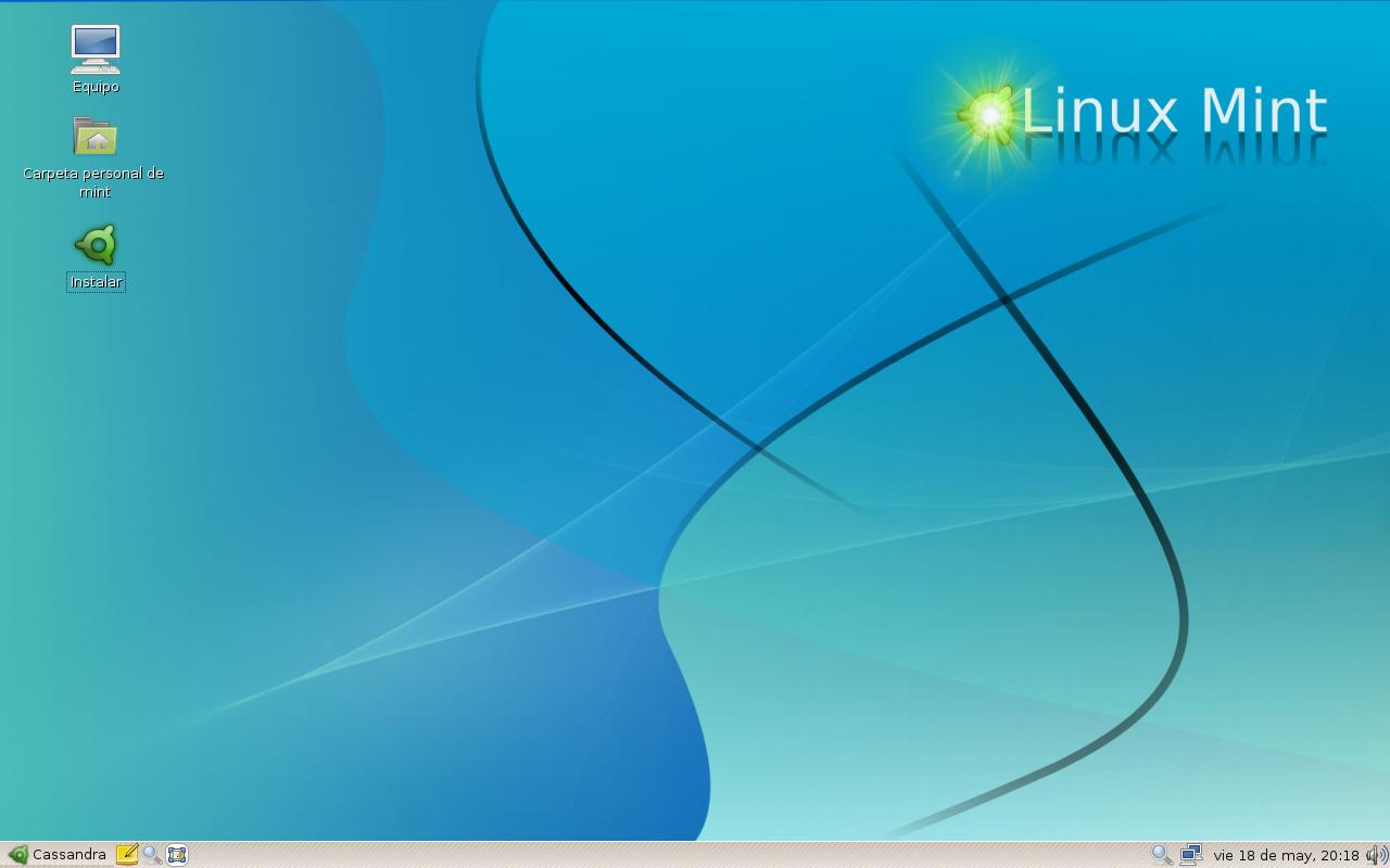 Descripción linux mint 3 0