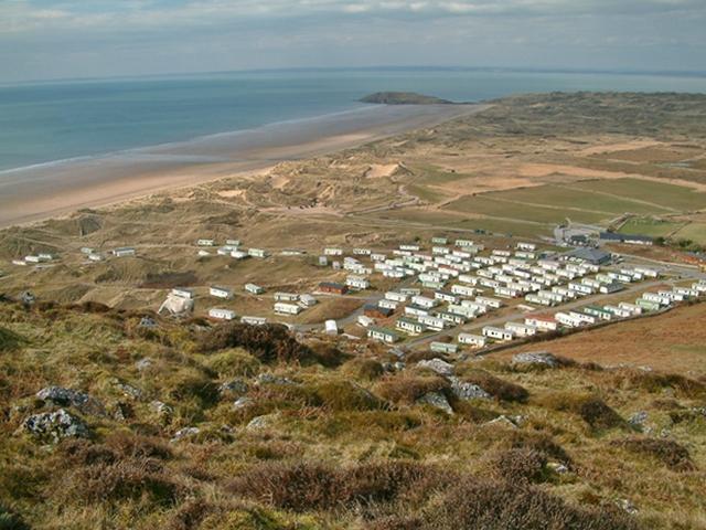Llangenydd, Hillend Caravan - Campsite - geograph.org.uk - 1057957
