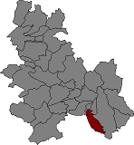 Location of Cabrera d'Anoia