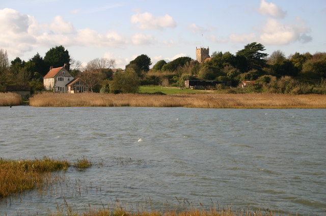 Looking across the River Yar - geograph.org.uk - 1049201
