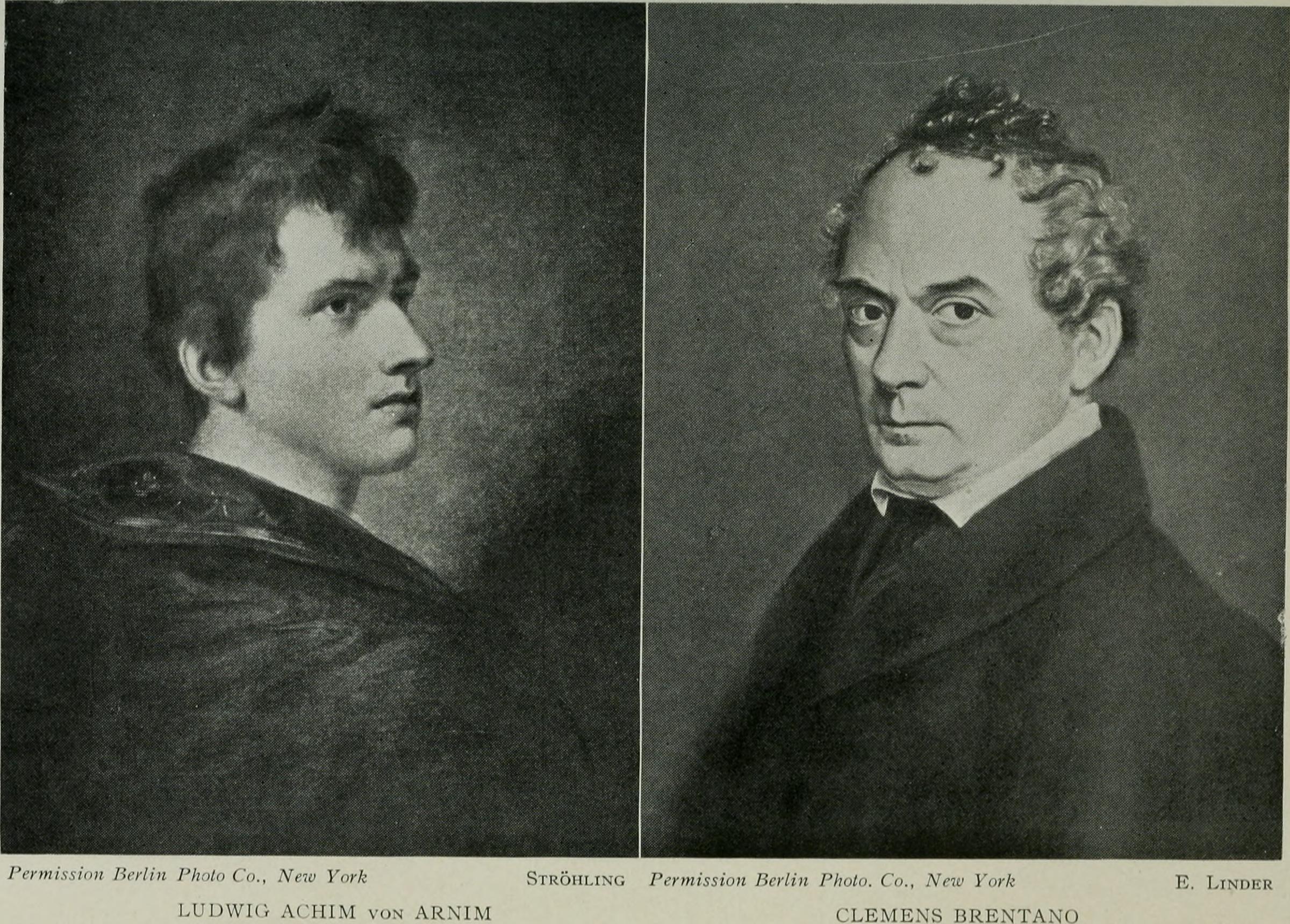 File Ludwig Achim Von Arnim & Clemens Brentano Wikimedia Mons