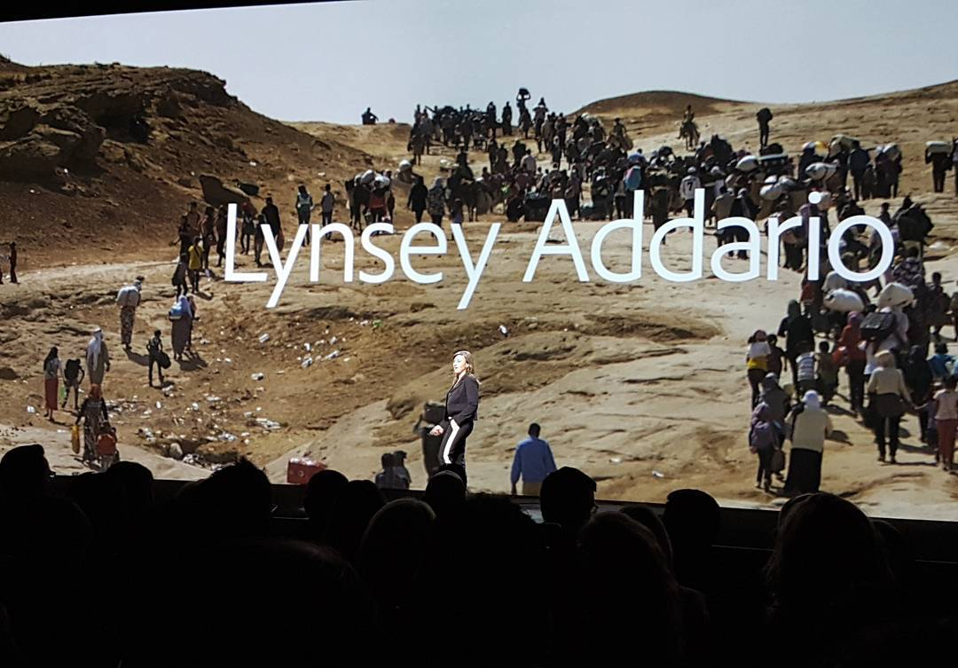 Image of Lynsey Addario from Wikidata