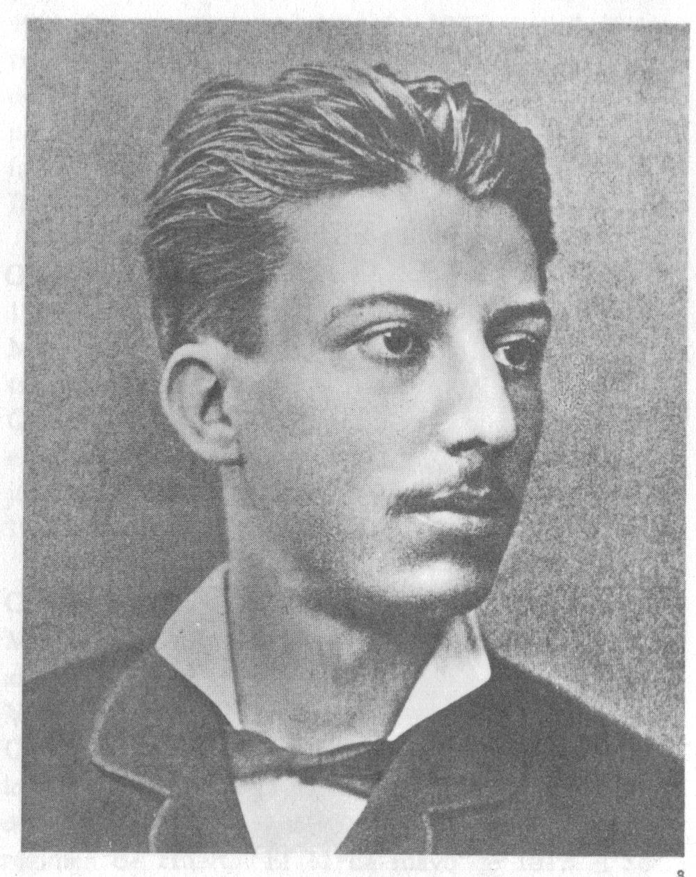Retrato de Manuel José Othón en su juventud.
