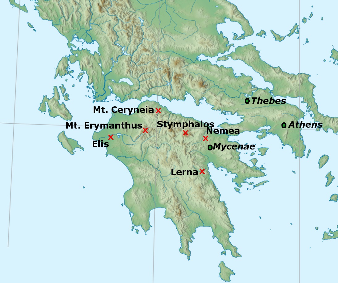 an analysis of the legend of heracles and the twelve labors A close analysis of the twelve labors of heracles is the foundation for my arguments the analysis of sparta relies on the works of tyrtaeus, herodotus, thucydides.