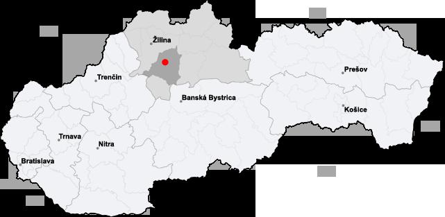 martin slovakia map