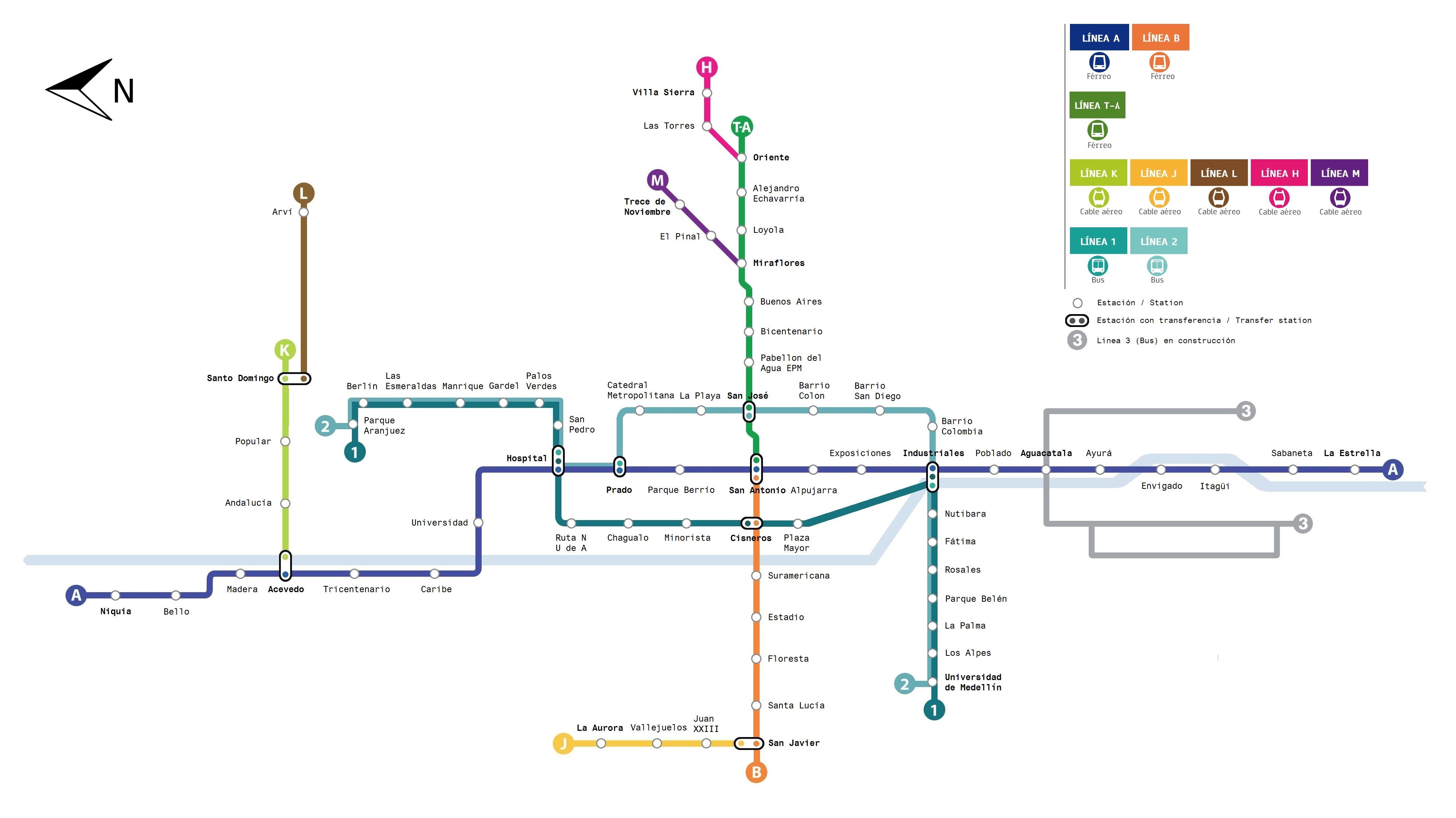 Medellín Metro Medellín subway