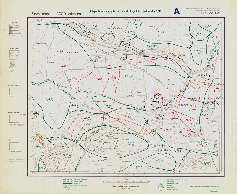 Mapy bpej online
