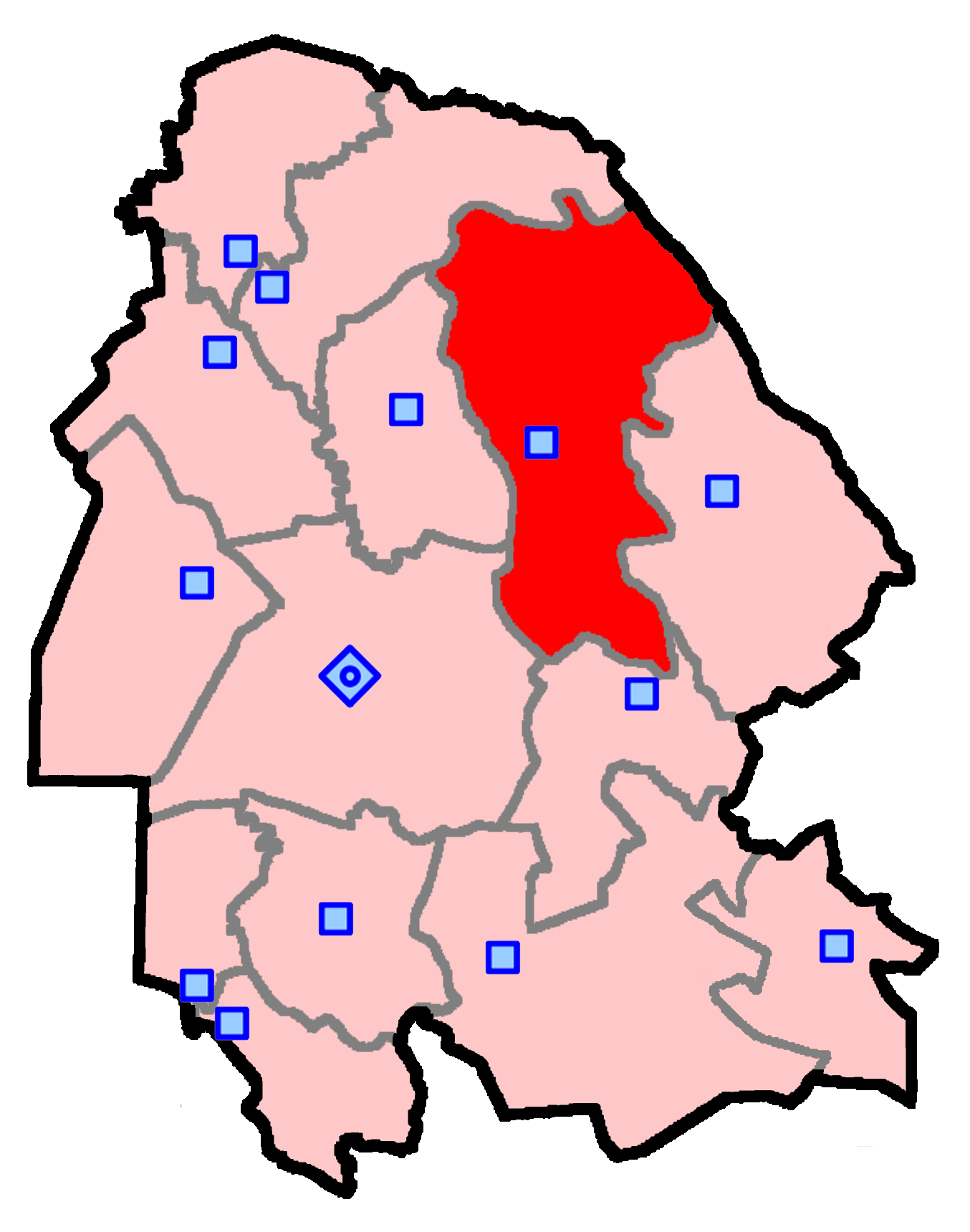 حوزه انتخابیه مسجدسلیمان، اندیکا، لالی و هفتکل