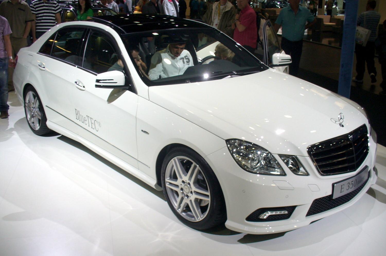 File Mercedes Benz W212 E 350 Bluetec Jpg Wikimedia Commons