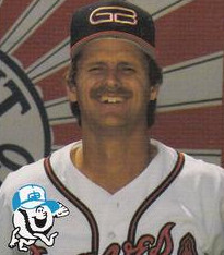 Mike Fischlin - Greenville Braves - 1988.jpg