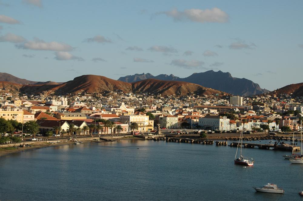 Mindelo auf der Insel São Vicente