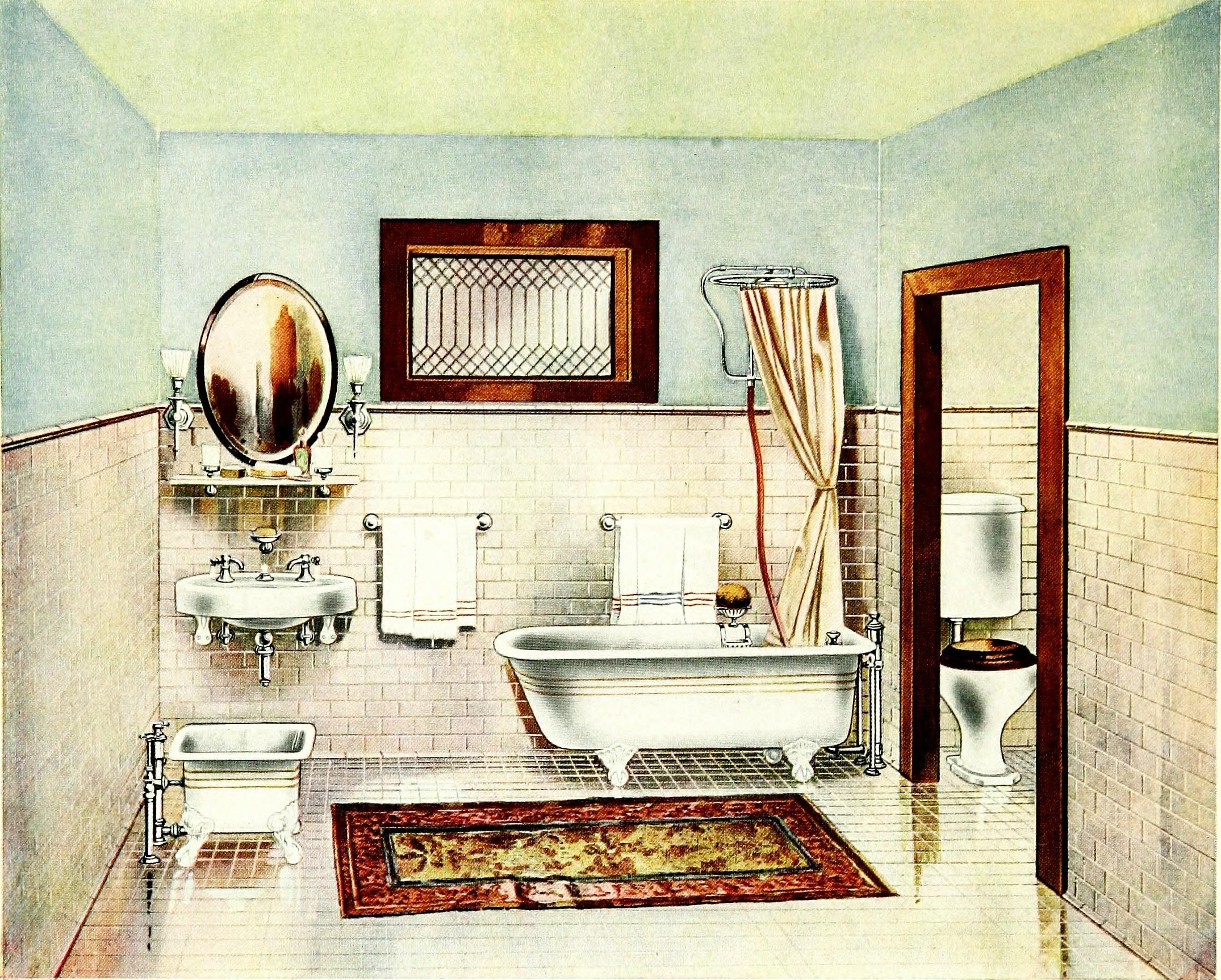 about to remodel their present dwellings Year: 1912 (1910s) Authors: Standard Sanitary Manufacturing Company Subjects: Bathrooms Bathrooms Plumbing Publisher: