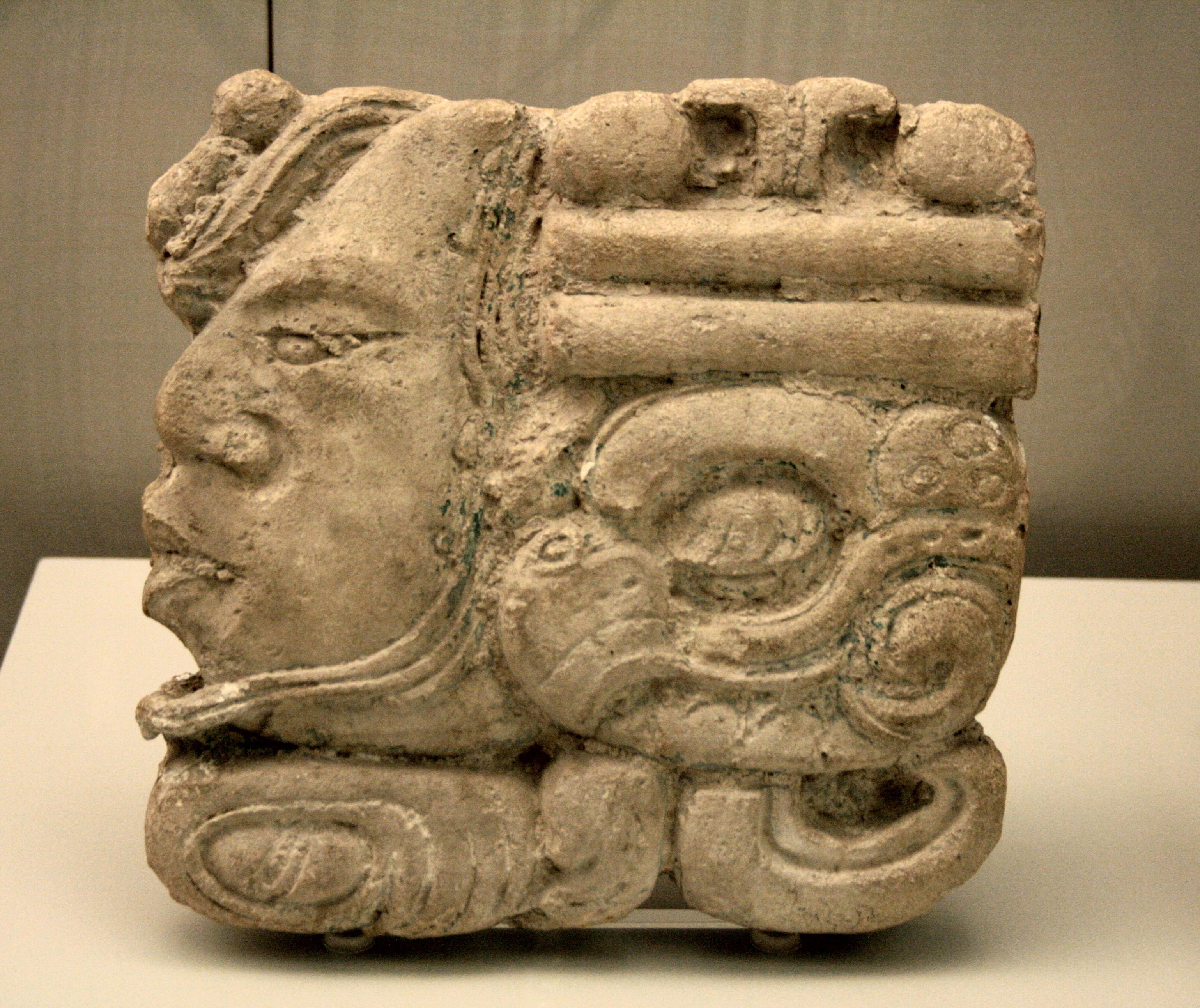 GUERRIER JAGUAR - ALEXANDROS MODELS 75mm Museo_de_Am%C3%A9rica_Maya_glyph