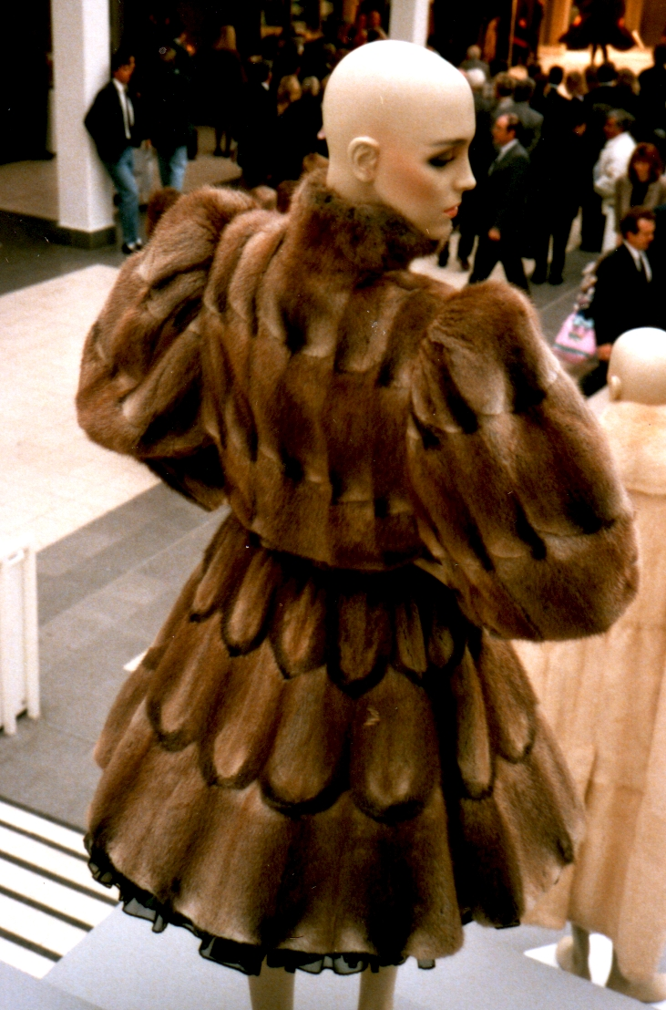 Fur Fashion Russian Model