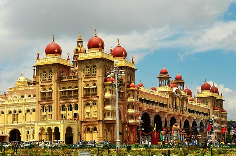 Mysore Palace, India (photo - Jim Ankan Deka)