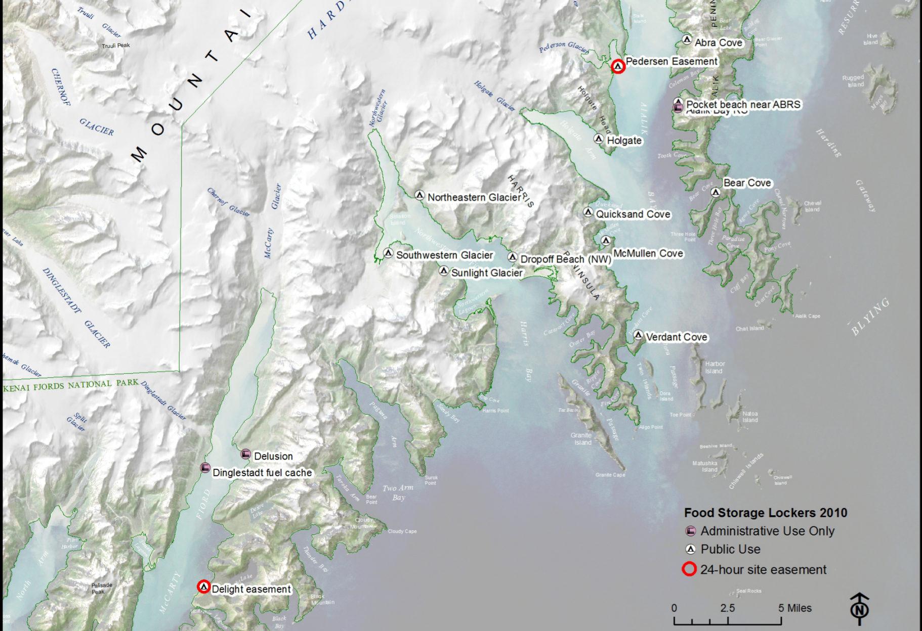FileNPS kenaifjordsfoodstoragelockermapjpg Wikimedia Commons