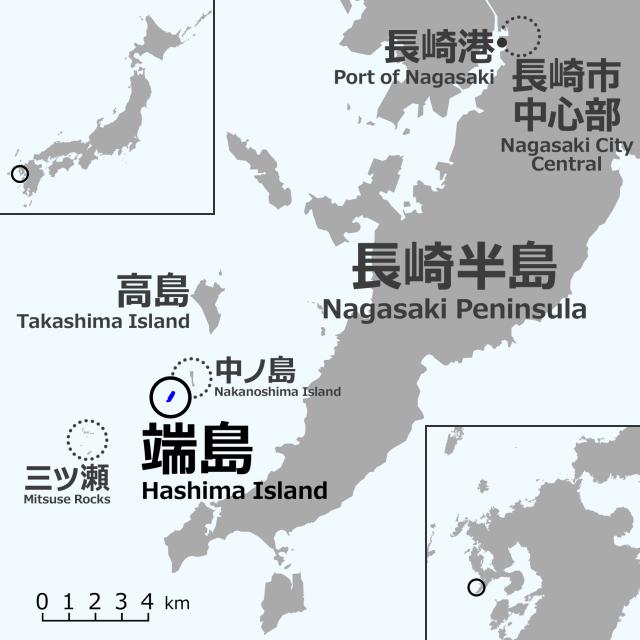 Gunkanjima, An Abandoned Island In Nagasaki