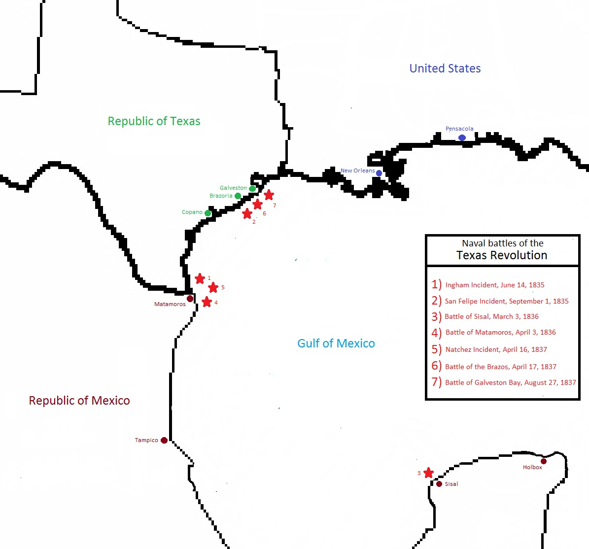 First Texas Navy - Wikipedia
