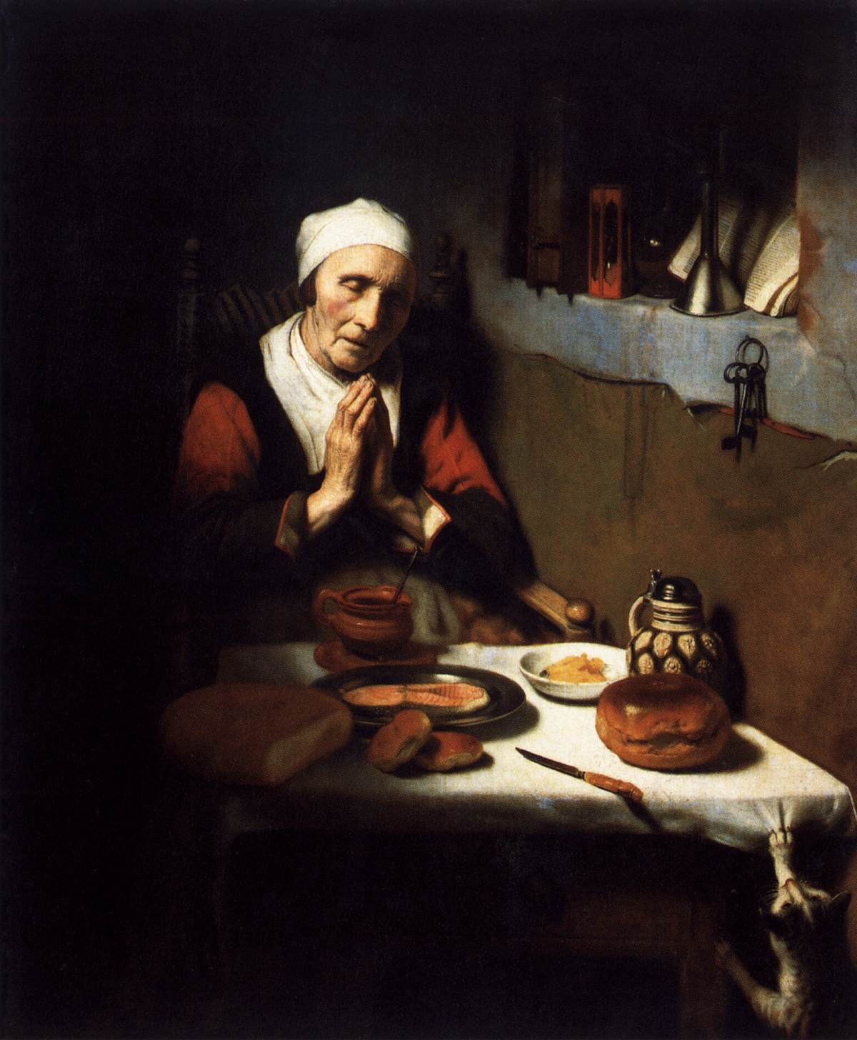 Famous Painting Of Woman Bread