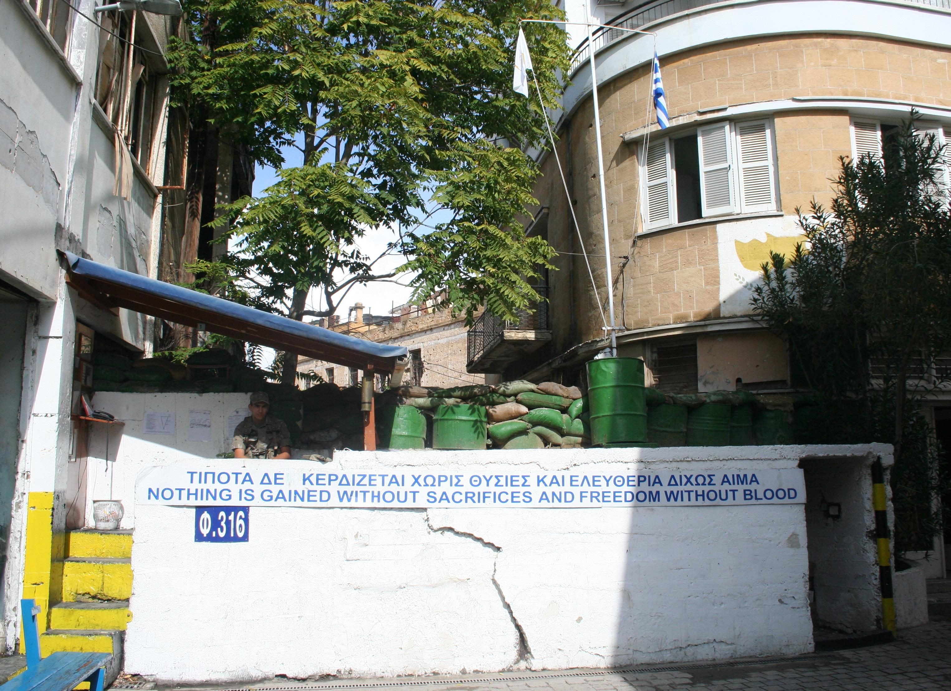 Il muro di Nicosia, altra questione spinosa per l'UE e la Turchia (commons.wikimedia.org)