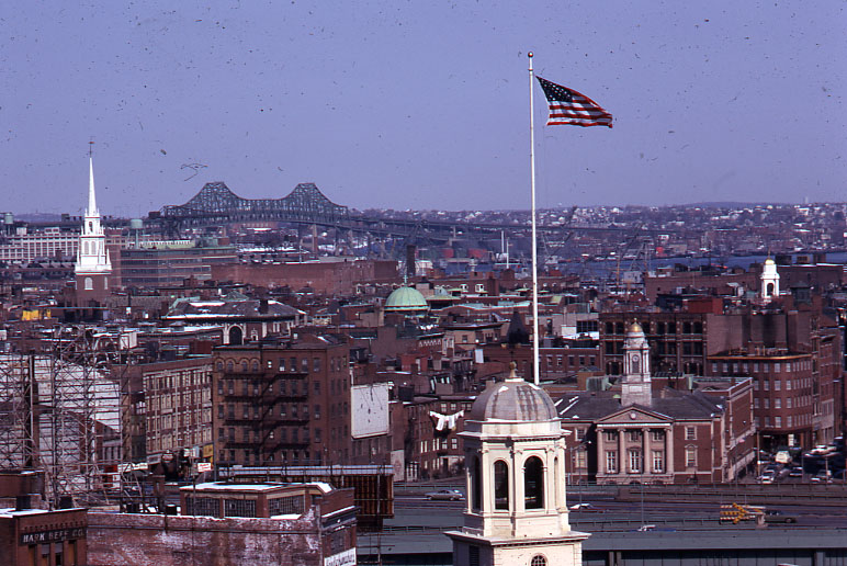 File:Old North Church and Tobin Bridge (8609104833).jpg