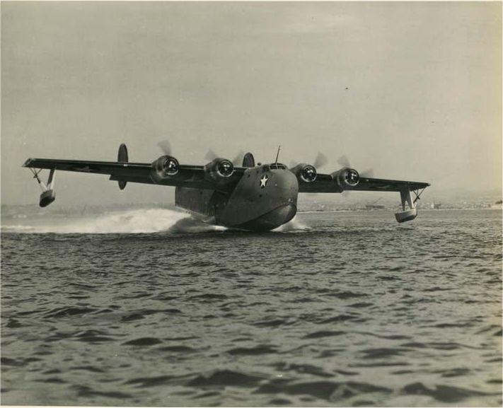 PB2Y takeoff 1942