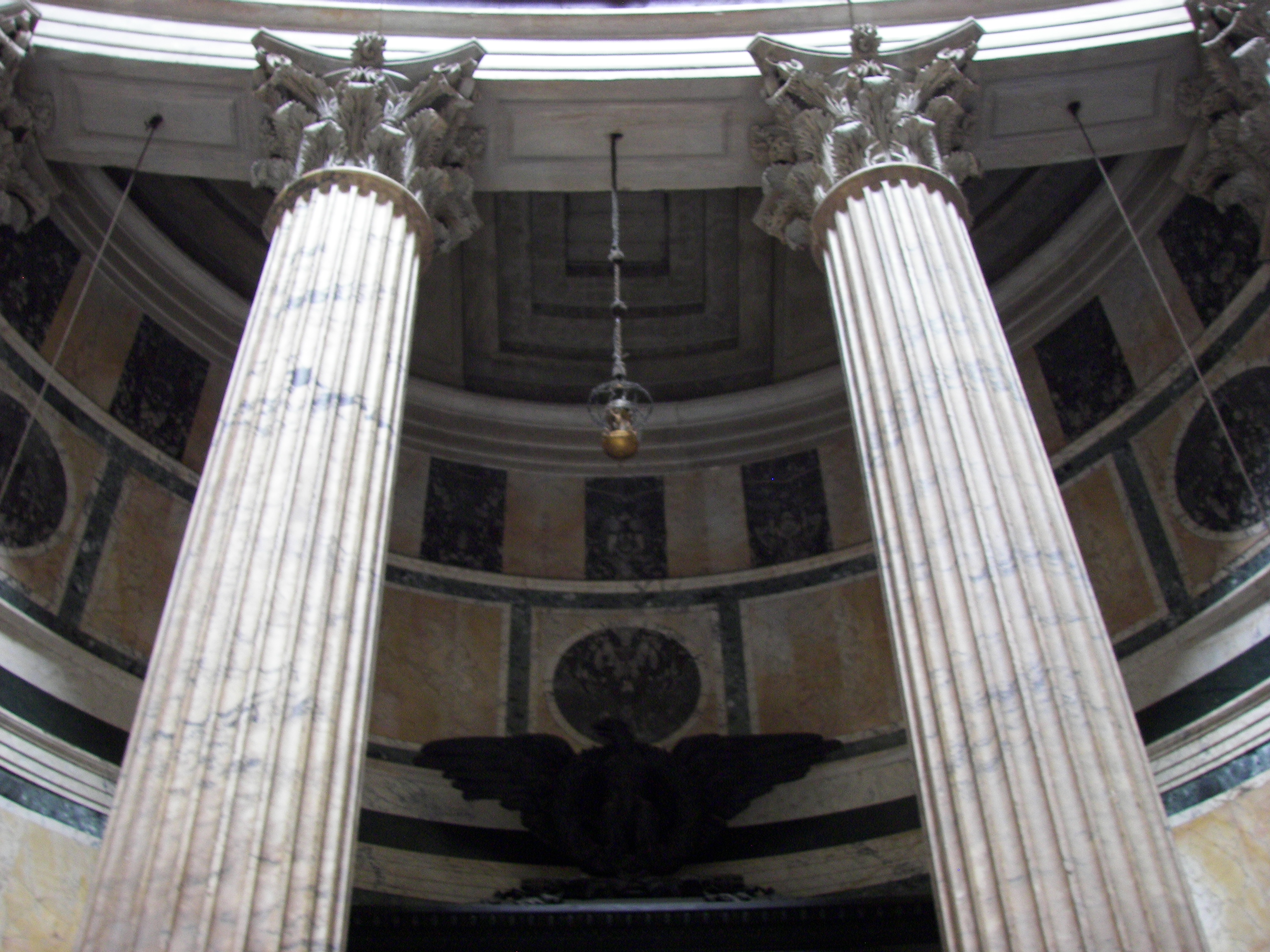 File Pantheon Interior Columns Wikimedia Commons