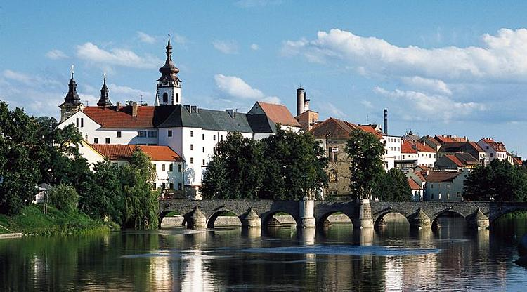 Pisek Czech Republic  city photo : Pisek castle and bridge Wikimedia Commons