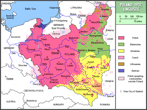 Poland1937linguistic World War 2