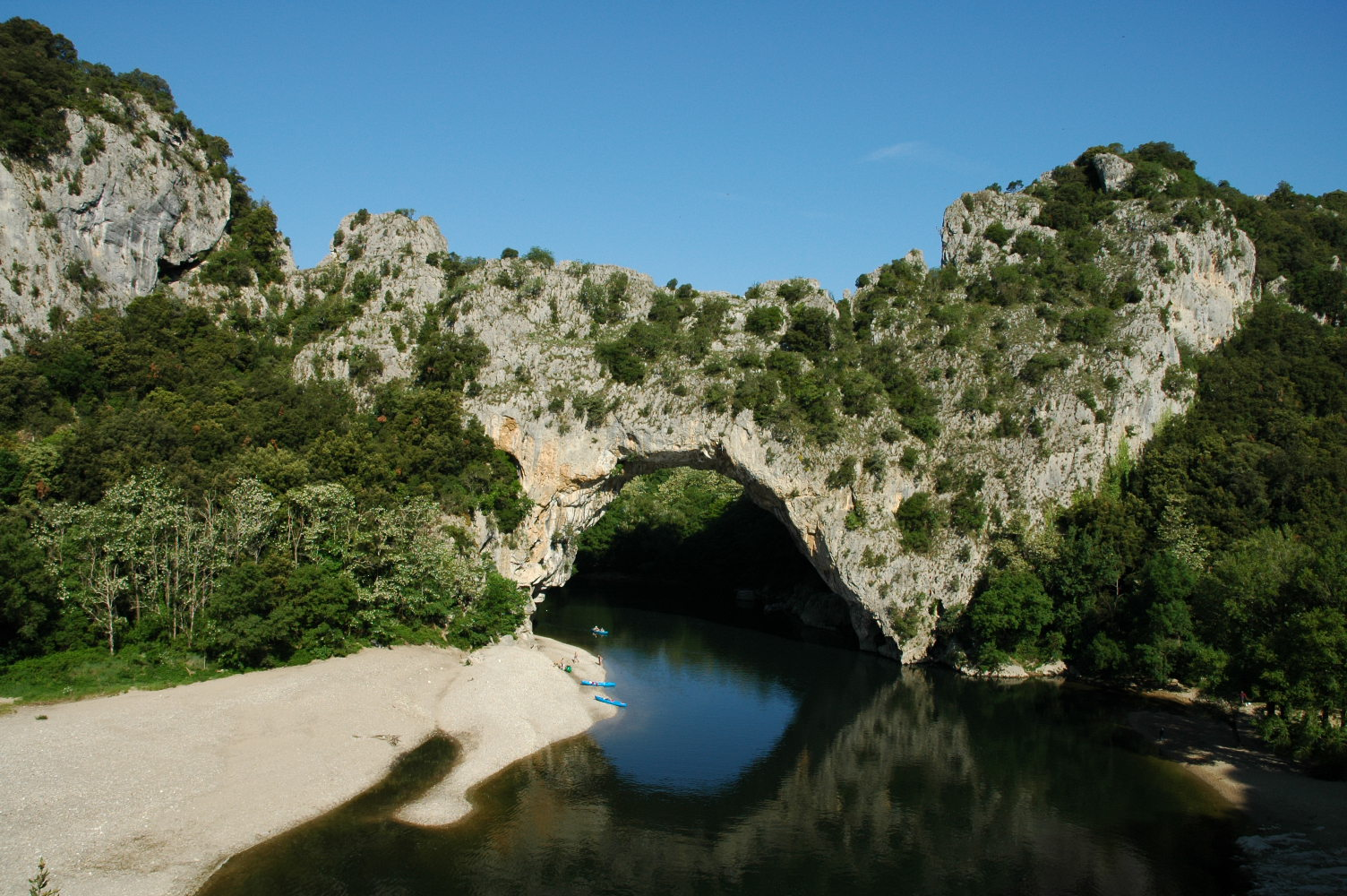 Vallon pont d 39 arc wikip dia - Office tourisme saint martin d ardeche ...