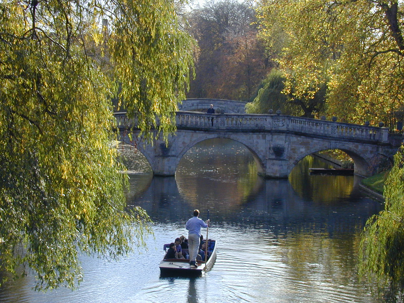 Description Punting on the River Cam.jpg