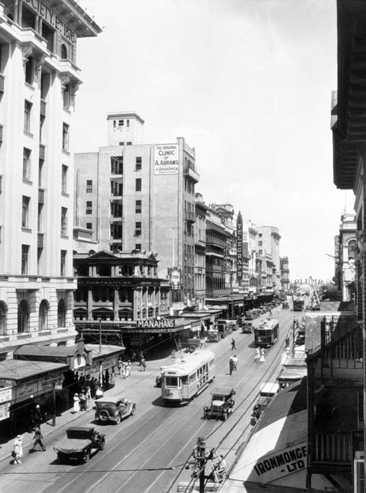 Queensland State Archives 187, Queen Street, Brisbane looking south west, March 1934